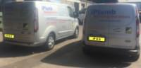 iPlumb Heating Services Vans